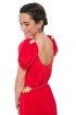 front - Vestido Red Bow