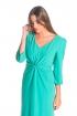 front - Vestido Moli Green