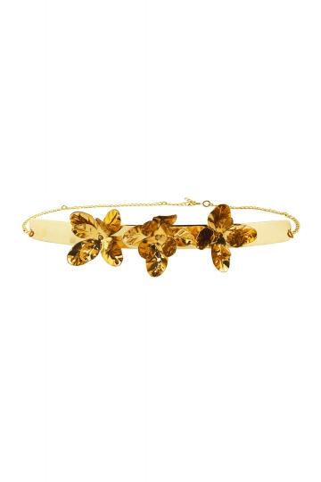 Cinturón Gold Flower