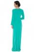 left - Vestido Green Acqua