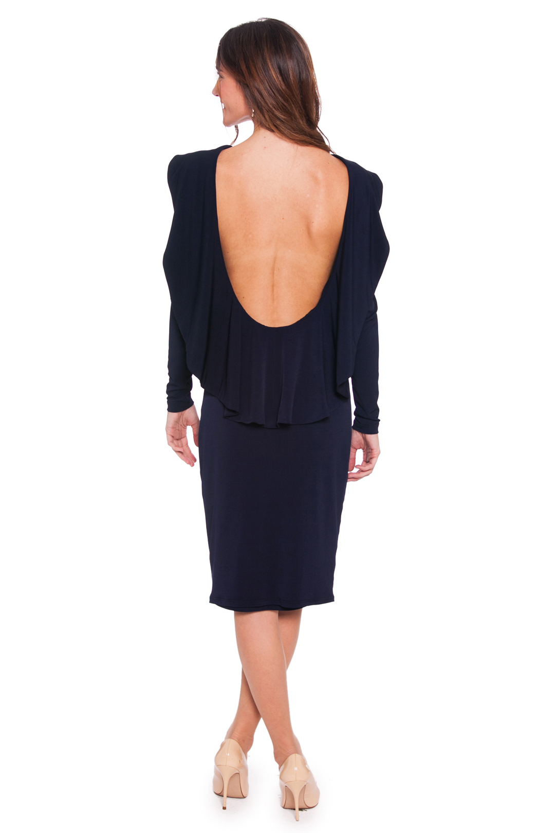 back - Vestido Kelly Navy