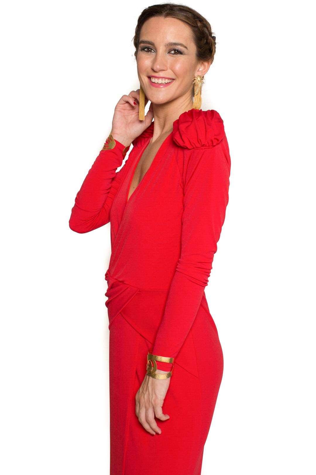 back - Vestido Cher Rojo