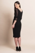 left - Vestido Black Velvet
