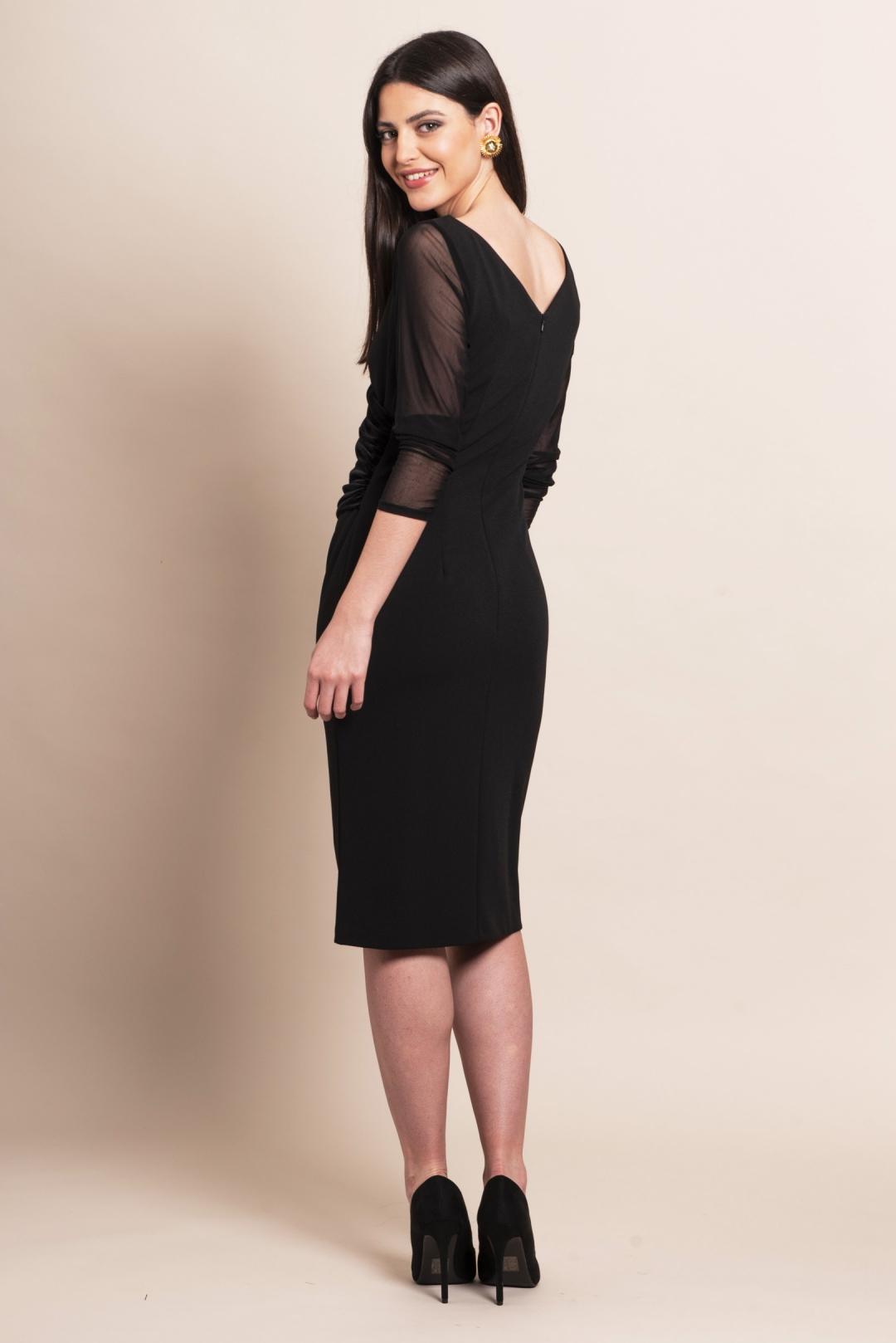 left - Vestido Black Velvet