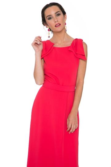 Vestido Two Laces Rojo
