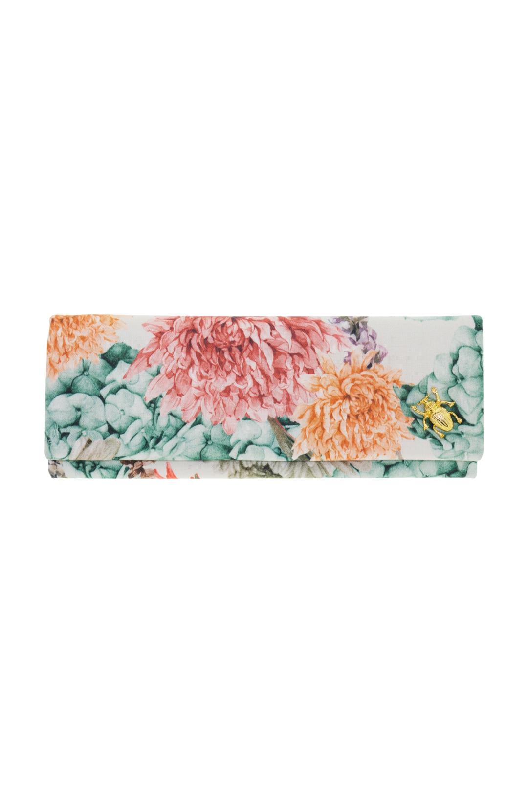 front - Cartera Crisantemos