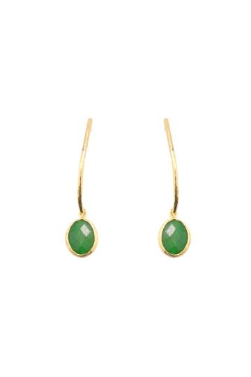 Pendientes Green Cingara