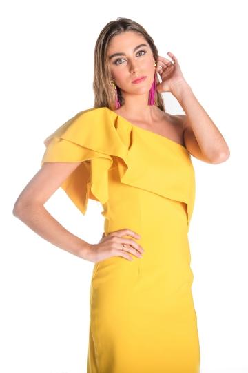 Vestido Triana Amarillo