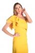 front - Vestido Triana Amarillo