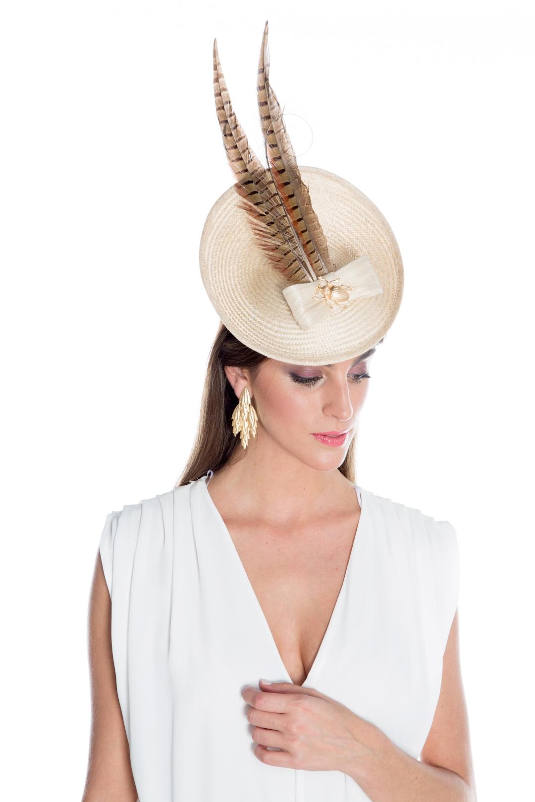 back - Tocado Esfera Feathers