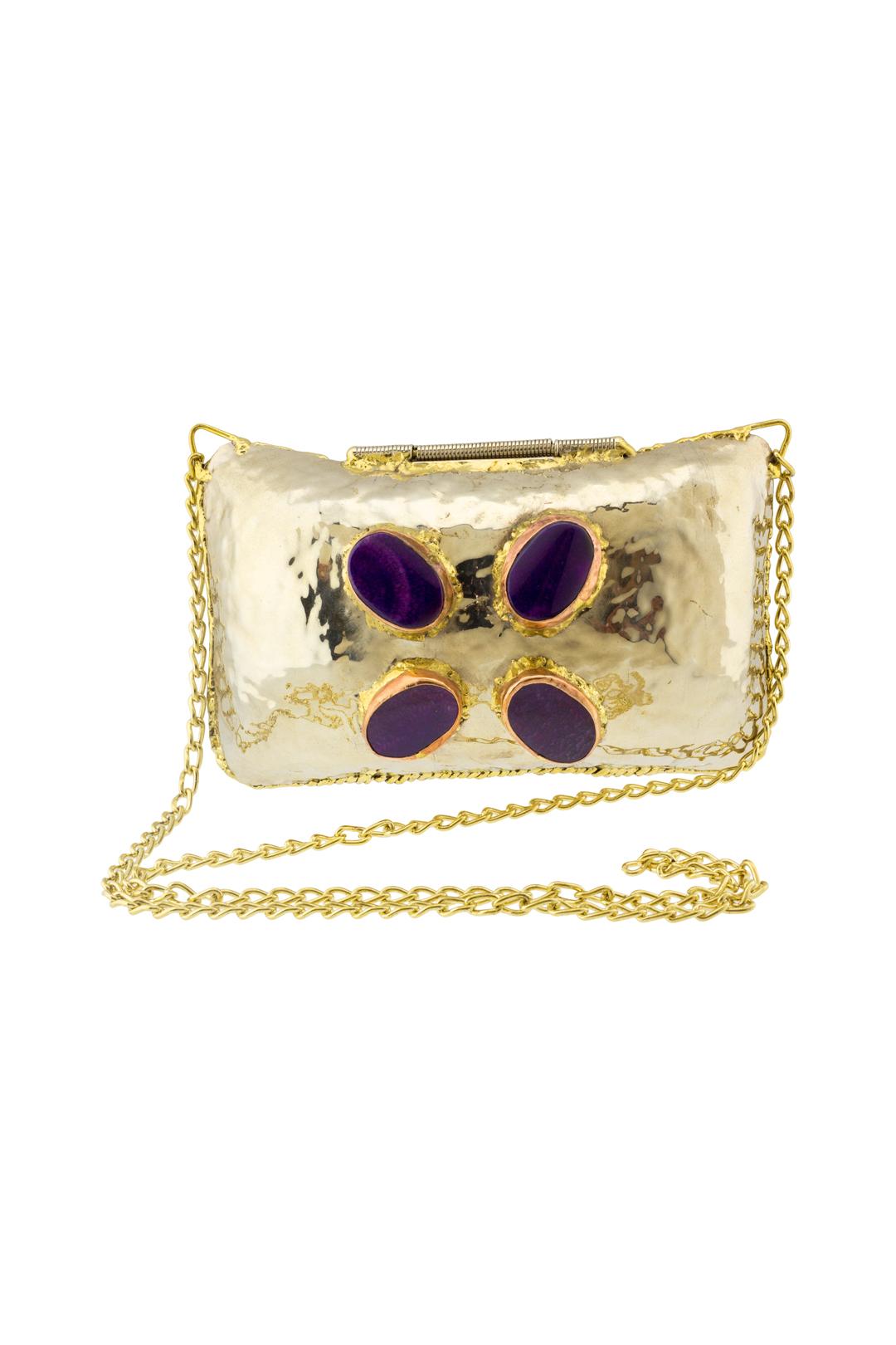 front - Bolso Purple Stones