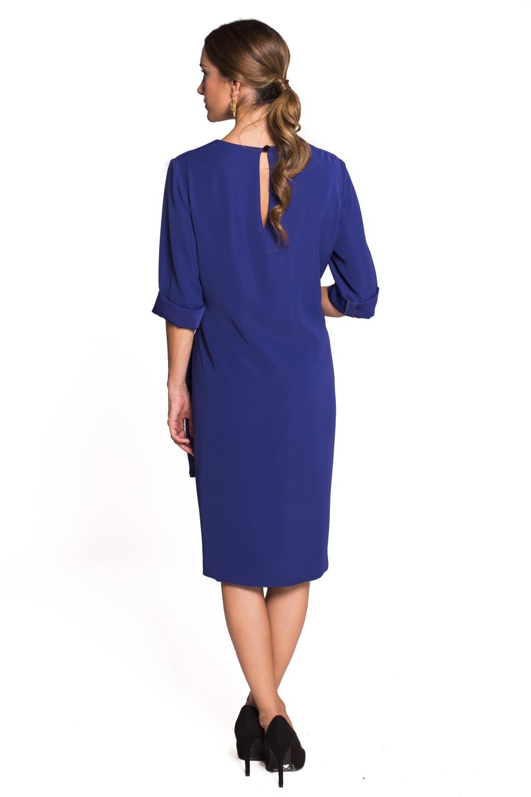 left - Vestido Ambra Blue