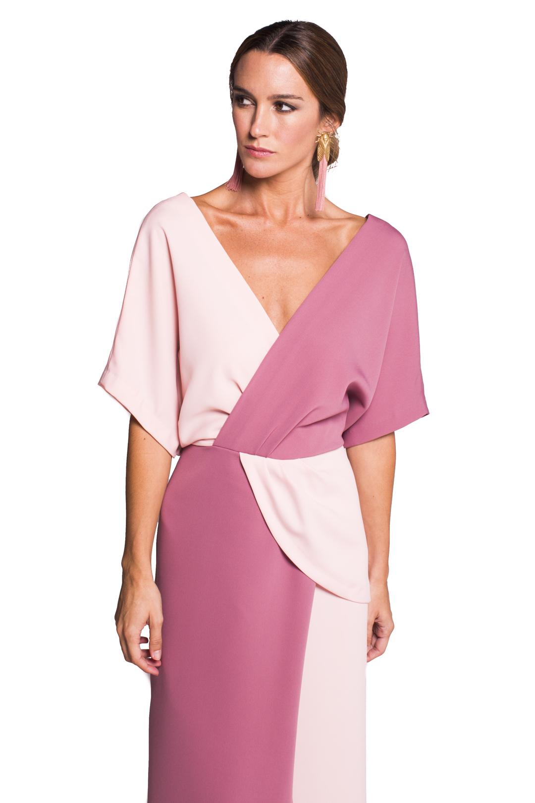 Vestido Dama Pink - Alquiler de Vestidos - La Más Mona