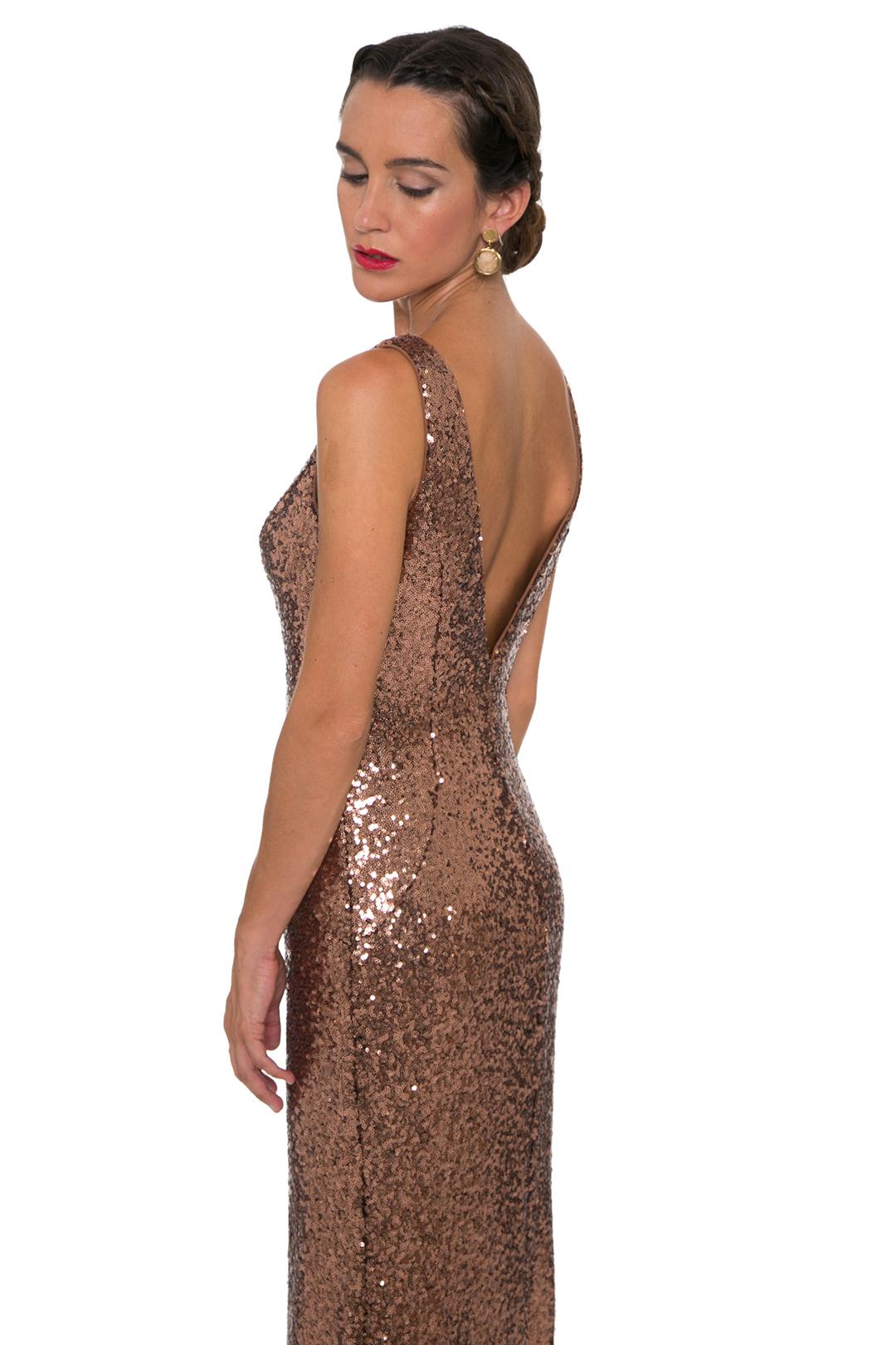 front - Vestido Bronze Star
