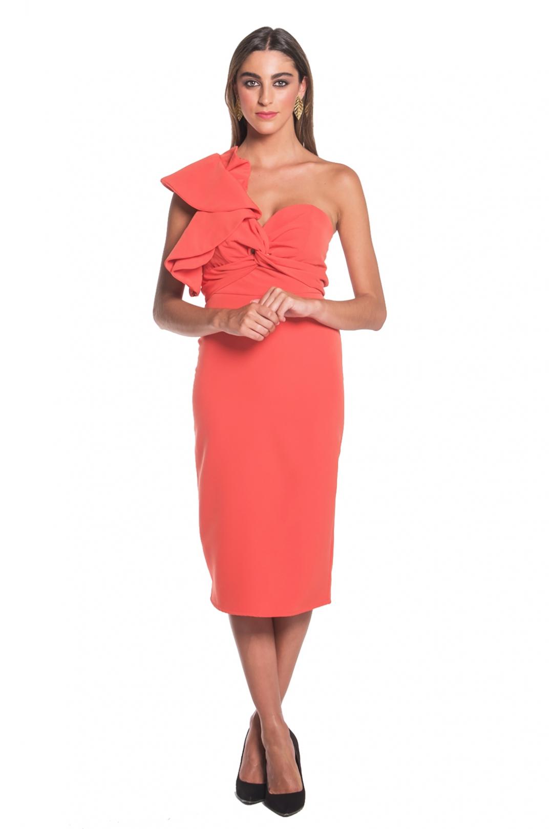 back - Vestido Victoria Coral
