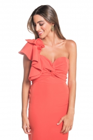 Vestido Victoria Coral