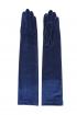 Guantes Terciopelo Azul
