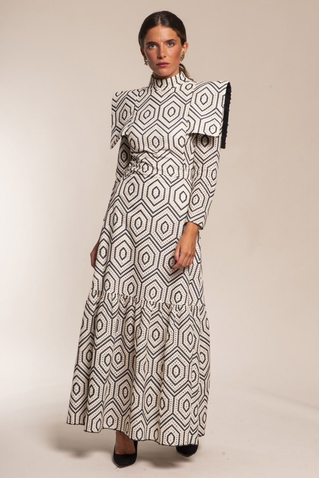 back - Vestido African