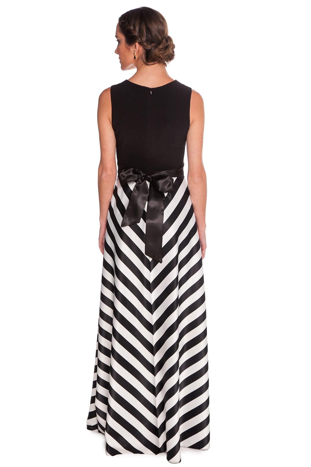 left - Vestido Stripes