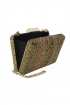 back - Clutch Bordados Beige