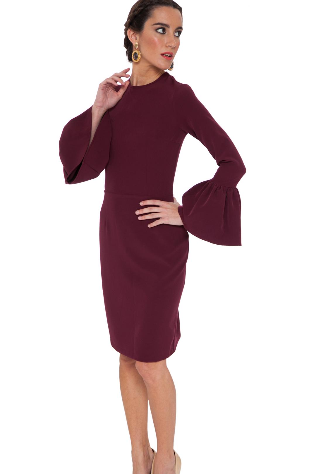 front - Vestido Jerez Burgundy