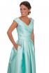 front - Vestido Larisa Blue