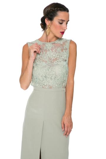 Vestido Mint Lace