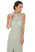 front - Vestido Mint Lace