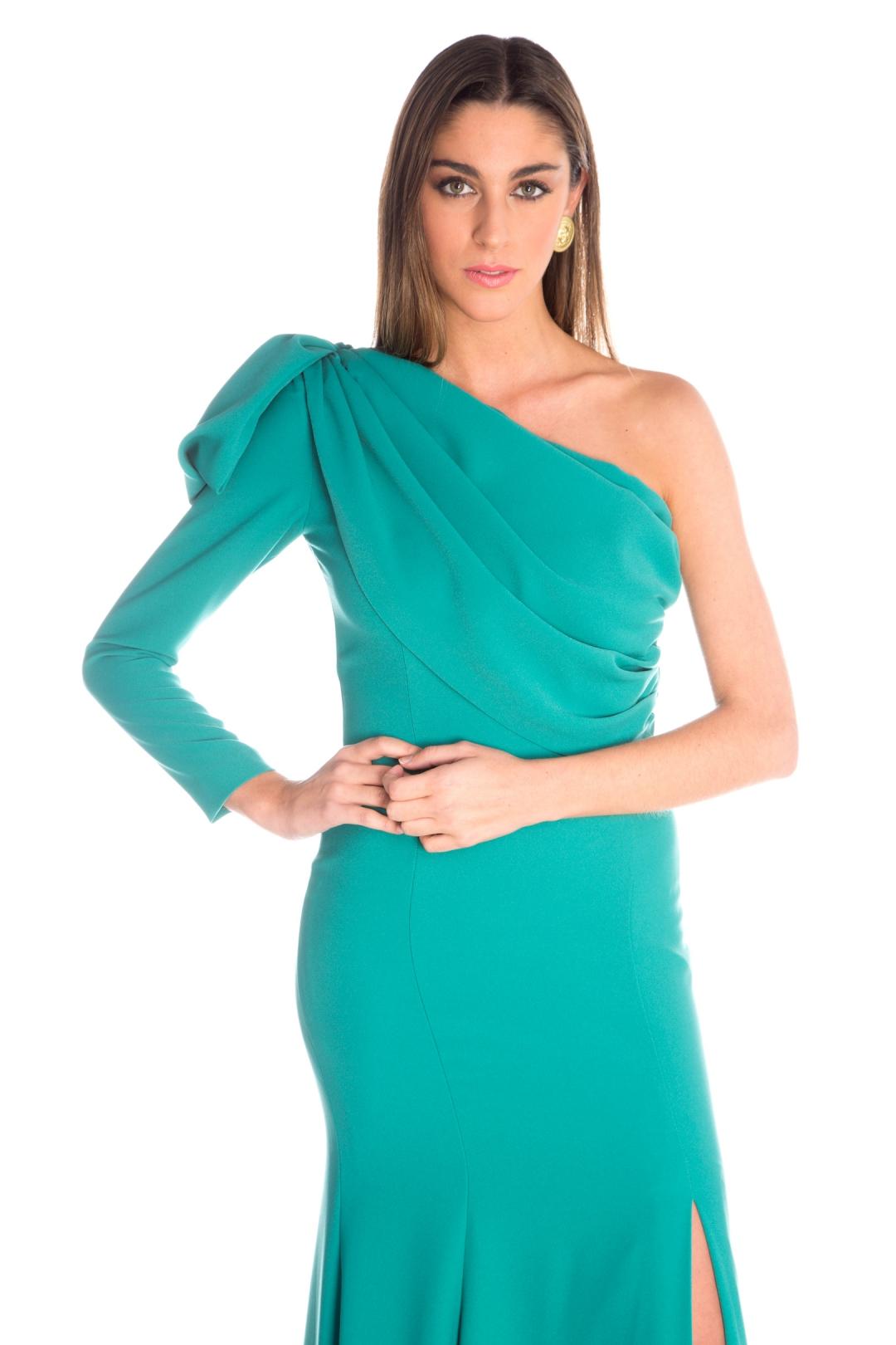 front - Vestido Belisa Verde