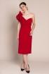 front - Vestido Vicky Red