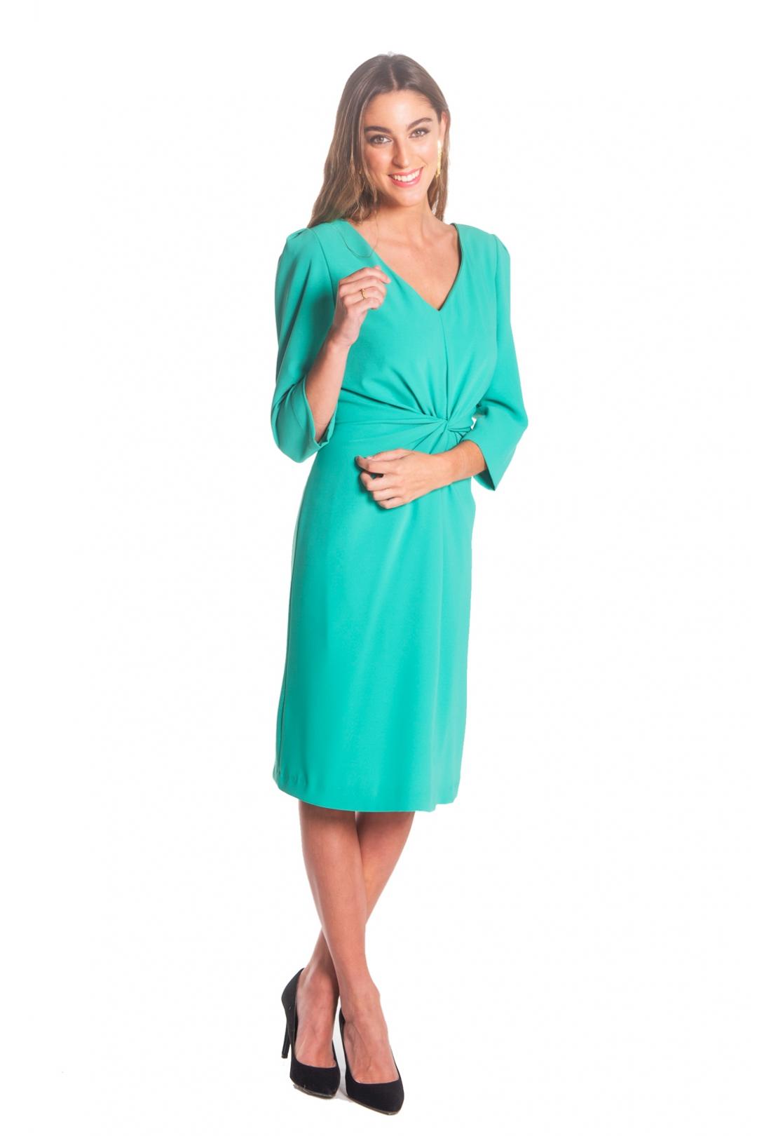 back - Vestido Moli Green