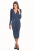 back - Vestido Eugenia Navy