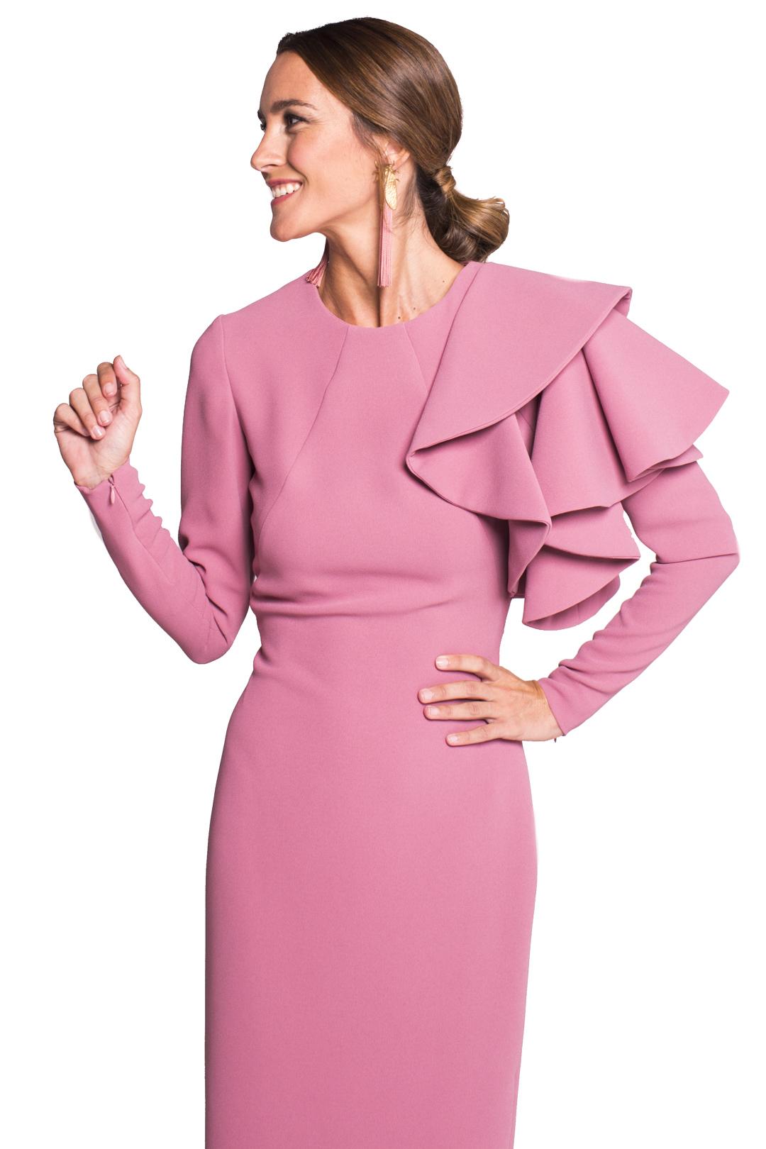 front - Vestido Ava Pink