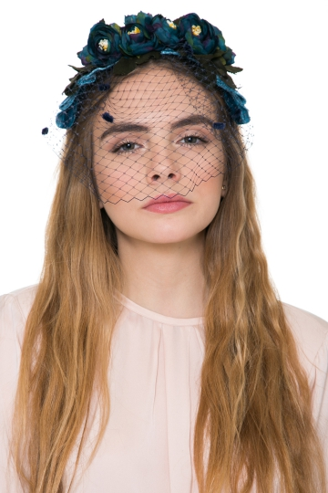 Diadema Secret Garden Blue