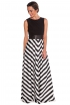 back - Vestido Stripes