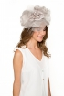 back - Diadema Grey Organza