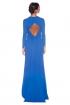 back - Vestido Afrodita Azul
