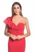 front - Vestido Victoria Rojo