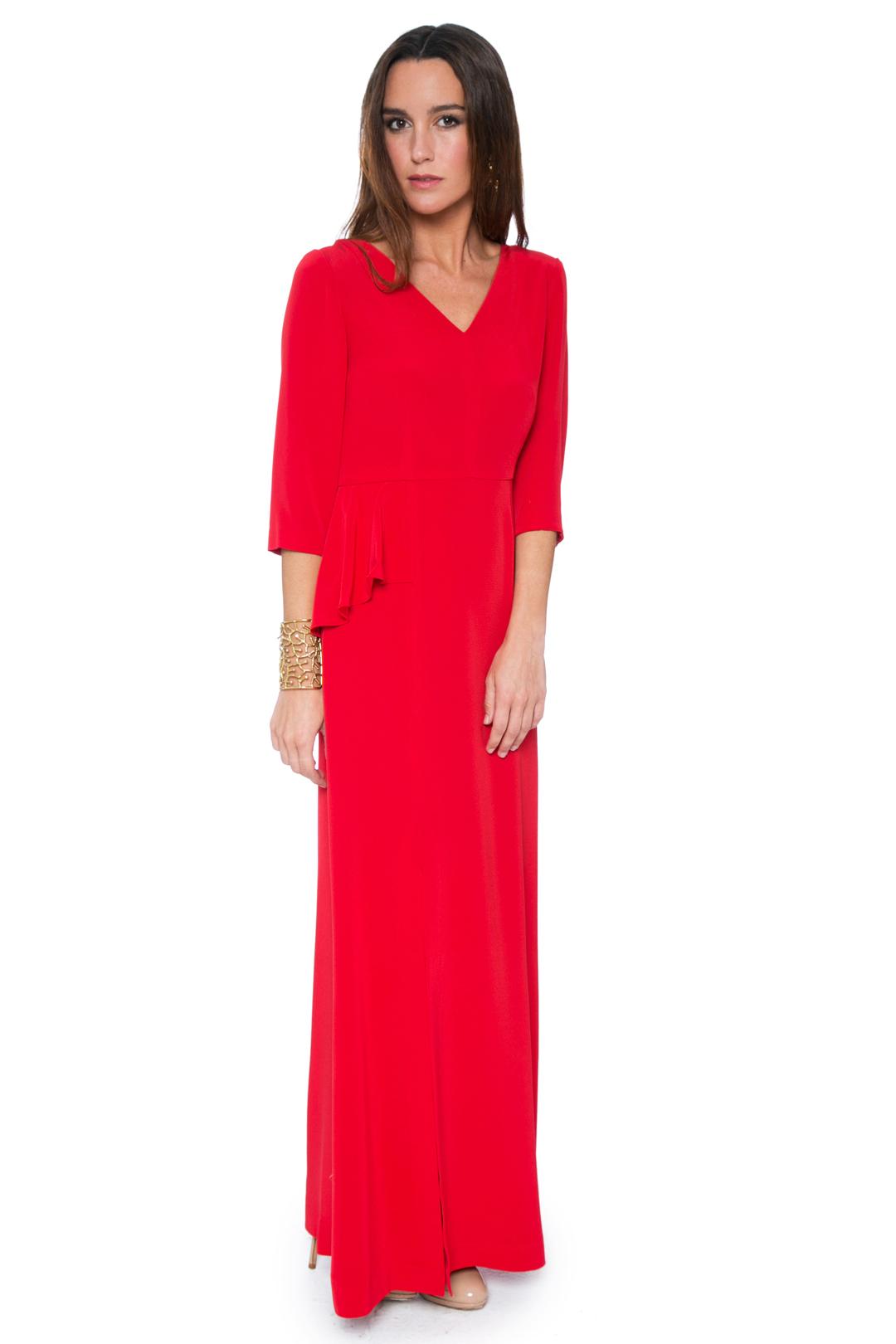 back - Vestido Elie Red
