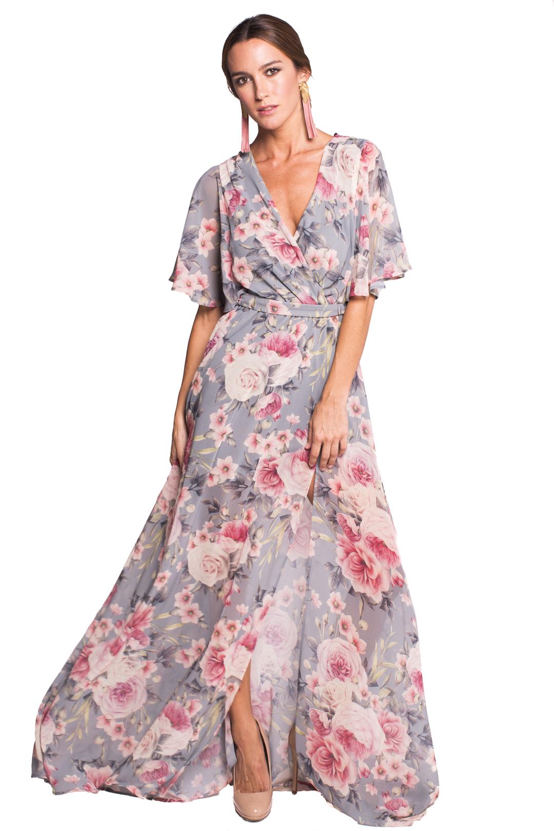 Vestido Arosa - Alquiler de Vestidos - La Más Mona