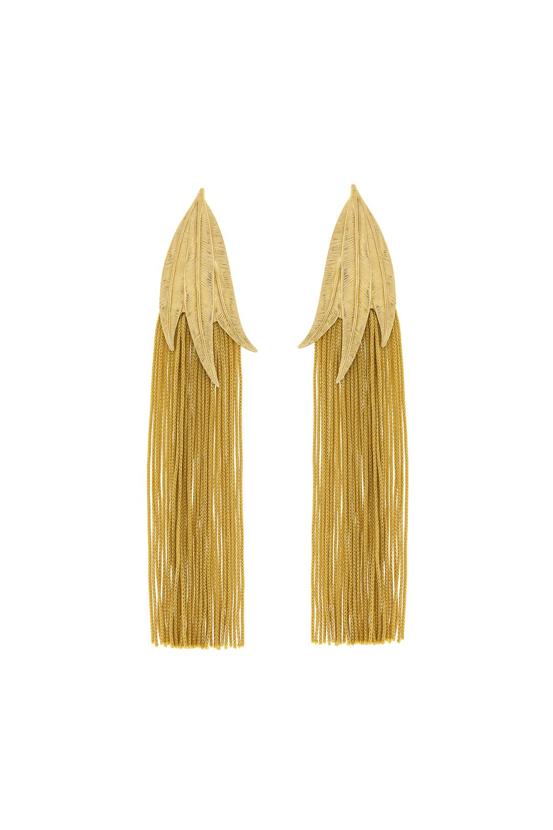front - Pendientes Indian Gold