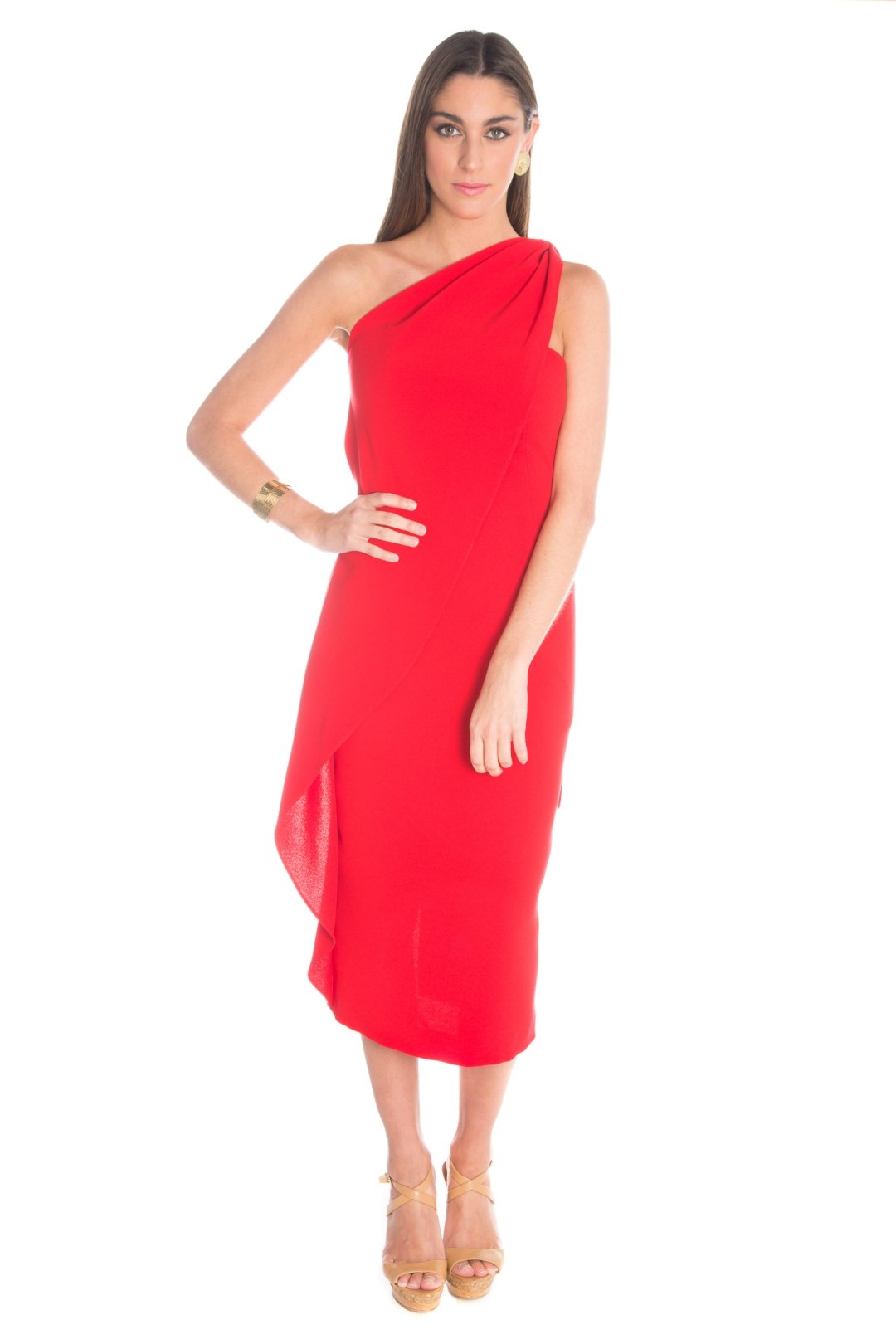 back - Vestido Casa Blanca Red
