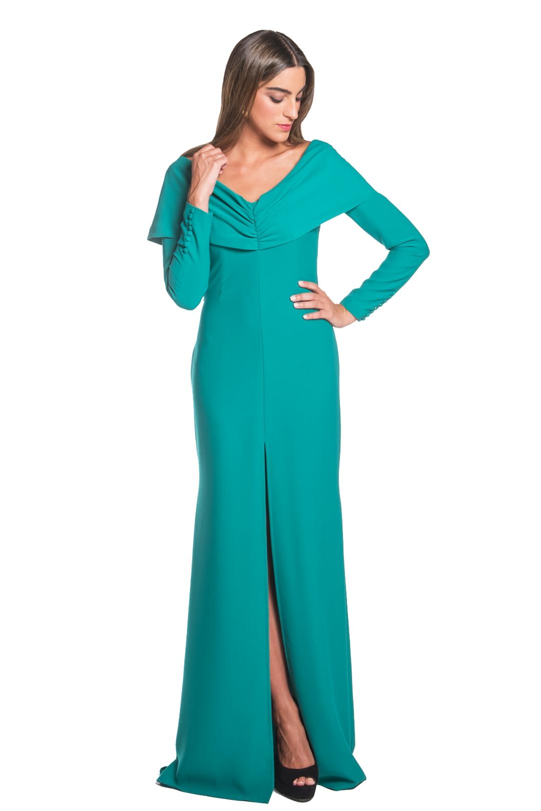 front - Vestido Sesa Verde