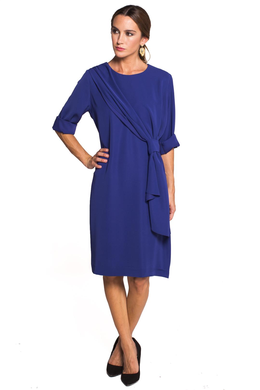 back - Vestido Ambra Blue