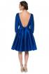 left - Vestido Menina Blue