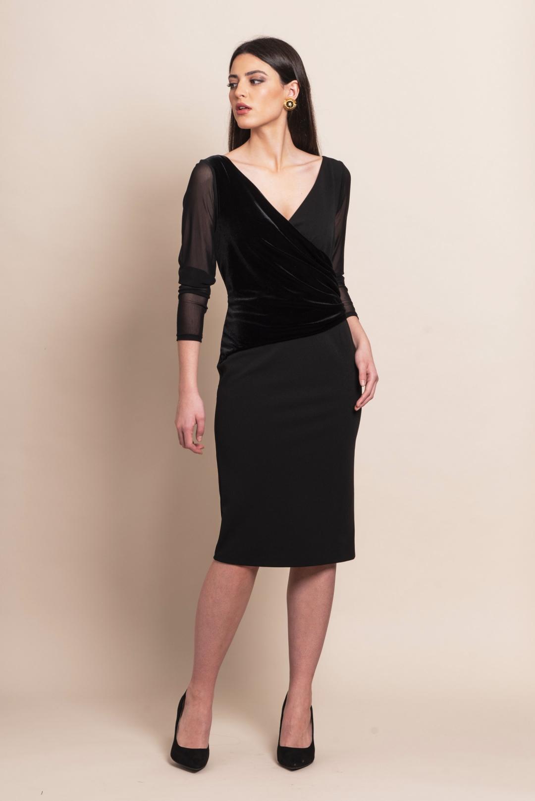 back - Vestido Black Velvet