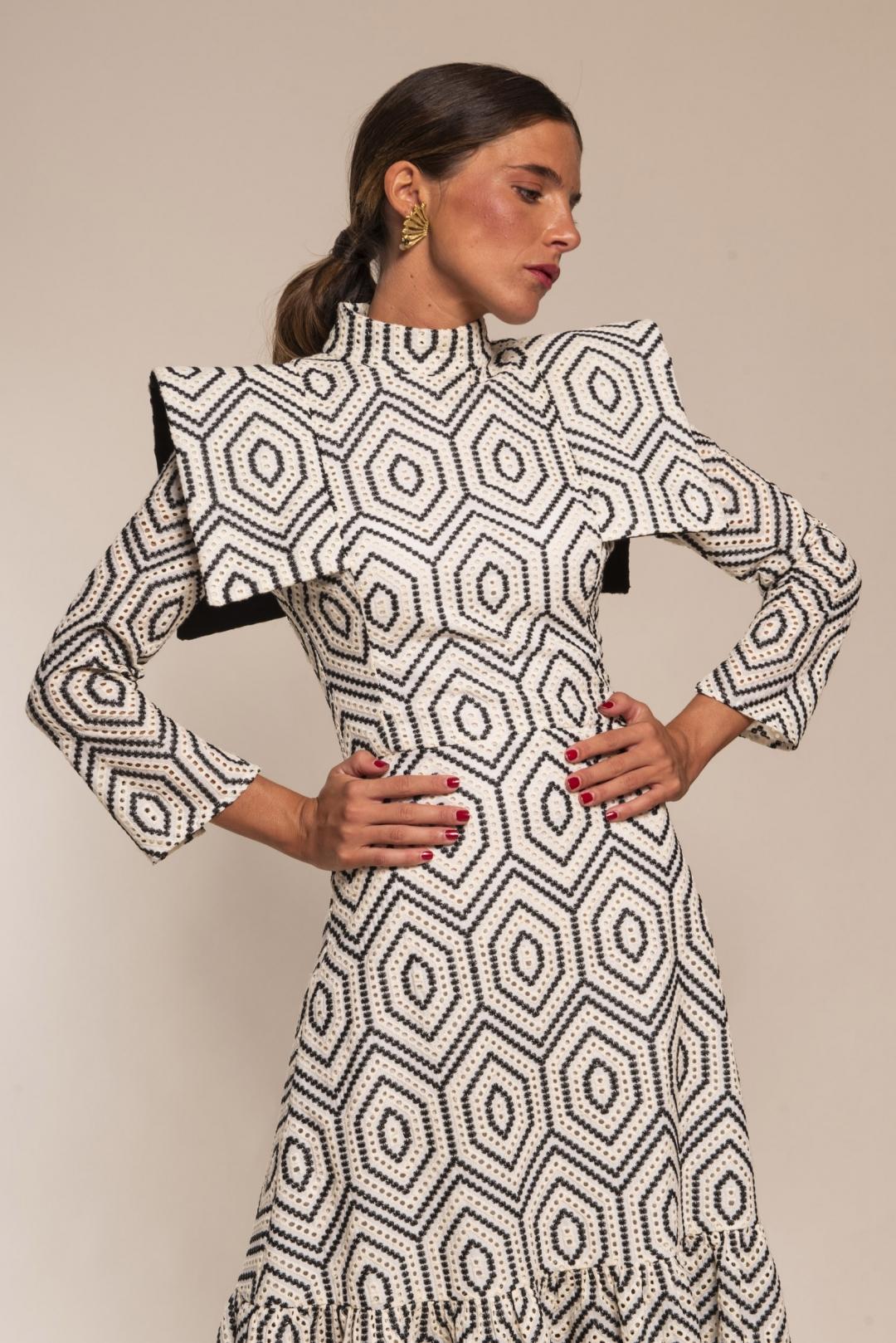 front - Vestido African
