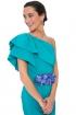 front - Vestido Triana Turquesa