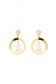 Pendientes Gold and Nude