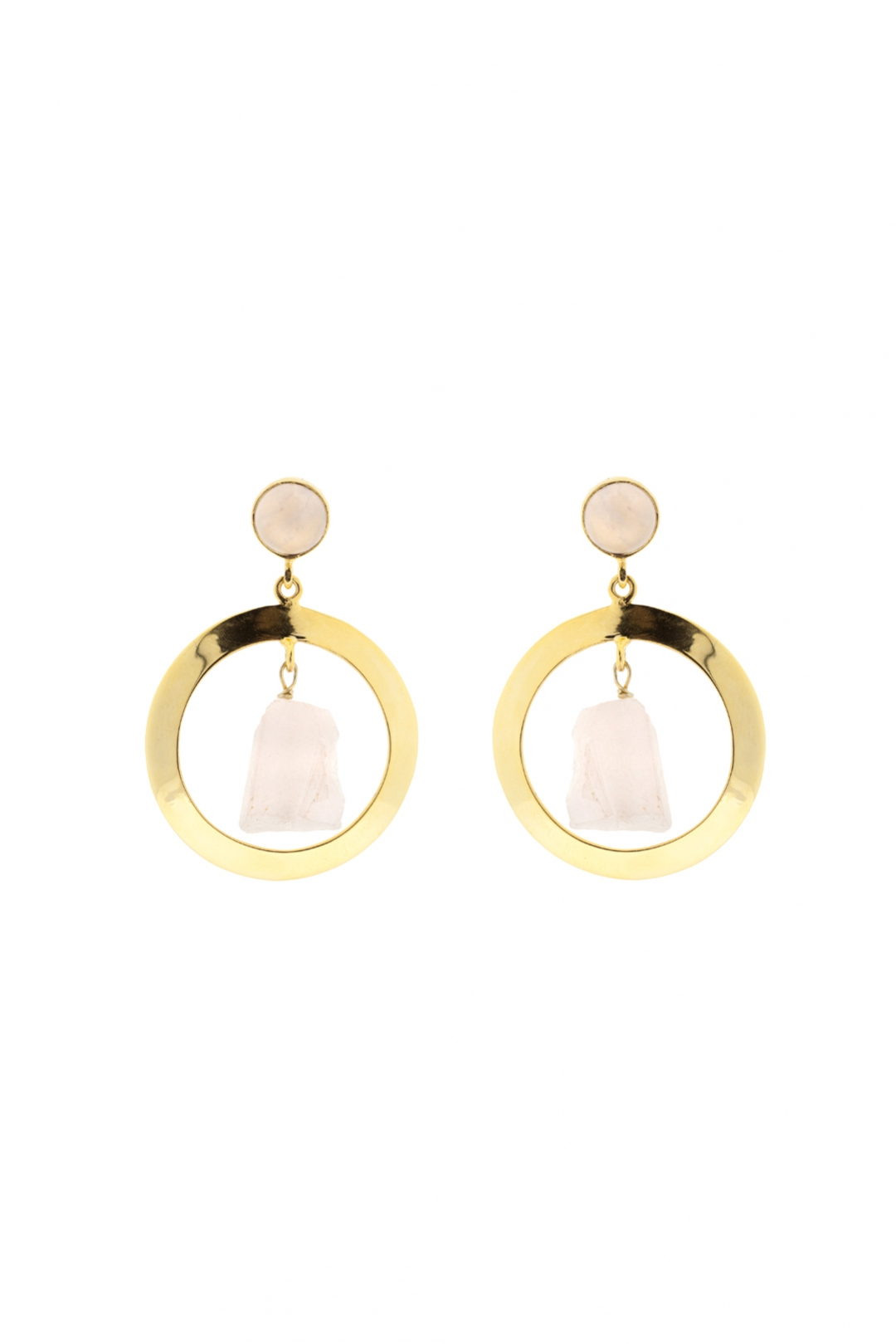 front - Pendientes Gold and Nude